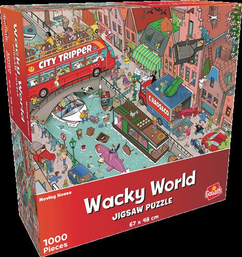 Wacky World - Moving House (1000 stukjes)