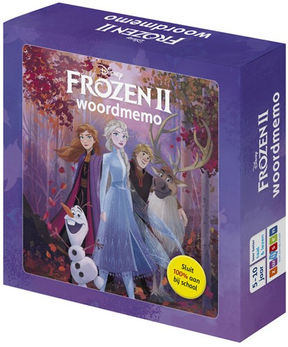 Frozen 2 - Woordmemo