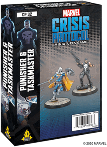 Marvel Crisis Protocol - Punisher and Taskmaster