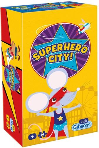 Superhero City Puzzel (36 stukjes)