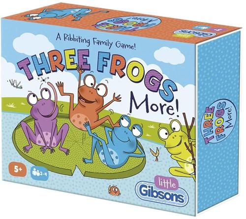 Three Frogs More - Kinderspel
