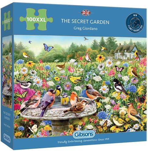 The Secret Garden Puzzel (100 XXL stukjes)