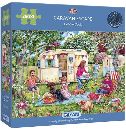 Caravan Escape Puzzel (250 XL)