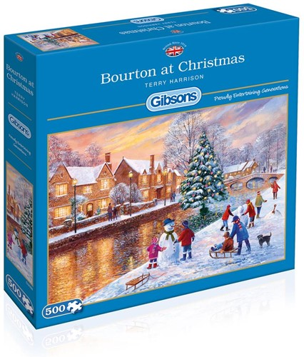 Bourton at Christmas Puzzel (500 stukjes)