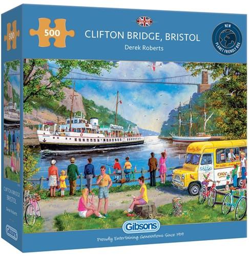 Clifton Bridge, Bristol Puzzel (500 stukjes)