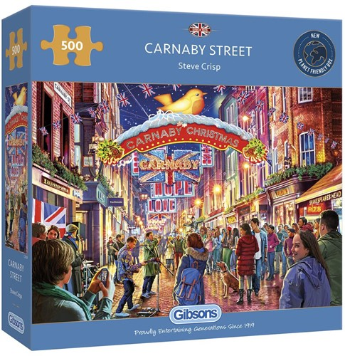 Carnaby Street Puzzel (500 stukjes)