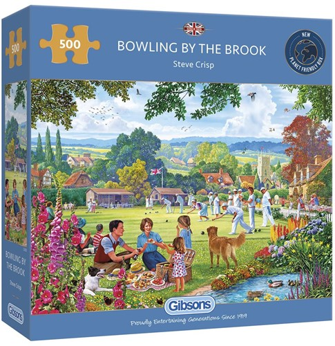 Bowling by the Brook Puzzel (500 stukjes)