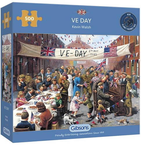 VE Day Puzzel (500 stukjes)