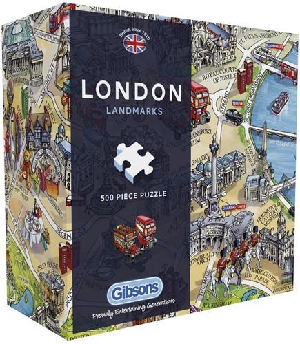 London Landmarks Puzzel (500 stukjes)