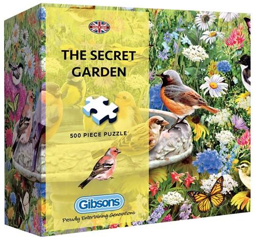 The Secret Garden Puzzel - Gift Box (500 stukjes)