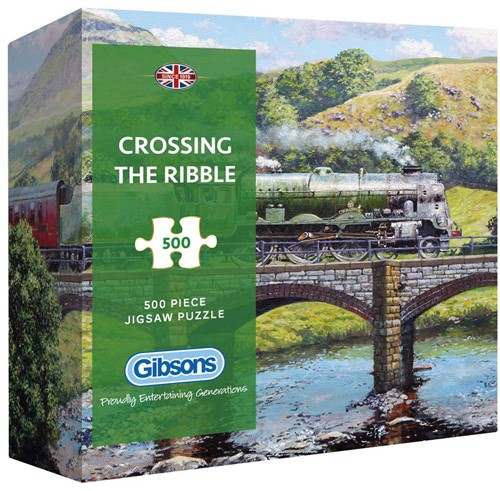 Crossing the Ribble Puzzel - Gift Box (500 stukjes)