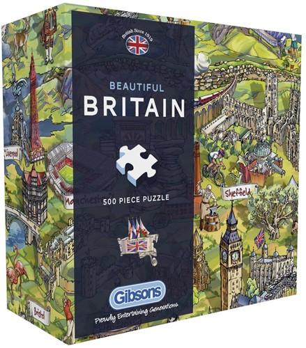 Beautiful Britain Puzzel (500 stukjes)