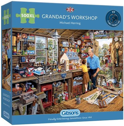 Grandad's Workshop Puzzel (500 XL)