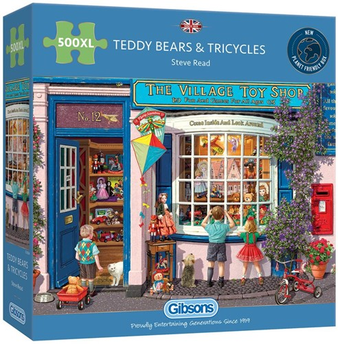 Teddy Bears & Tricycles Puzzel (500 XL)