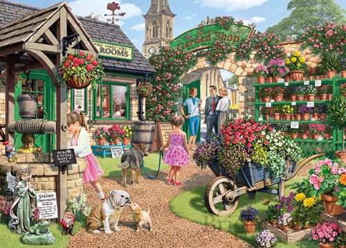 Glennys Garden Shop Puzzel (500 XL)