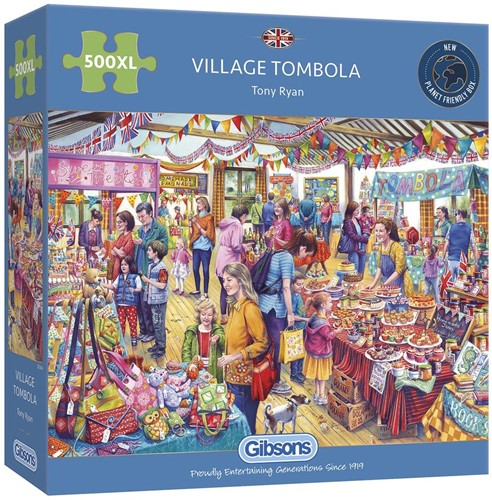 Village Tombola Puzzel (500 XL)