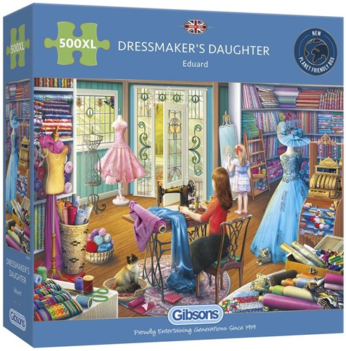 Dressmaker's Daughter Puzzel (500 XL)