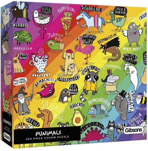 Punimals Puzzel (500 stukjes)