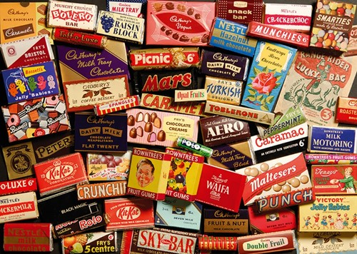 1950s Sweet Memories Gift Tin Puzzel (500 stukjes)-2