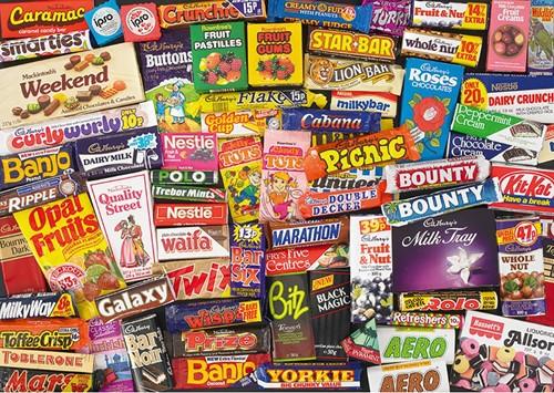 1980s Sweet Memories Gift Tin Puzzel (500 stukjes)-2