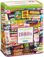 1980s Sweet Memories Gift Tin Puzzel (500 stukjes)