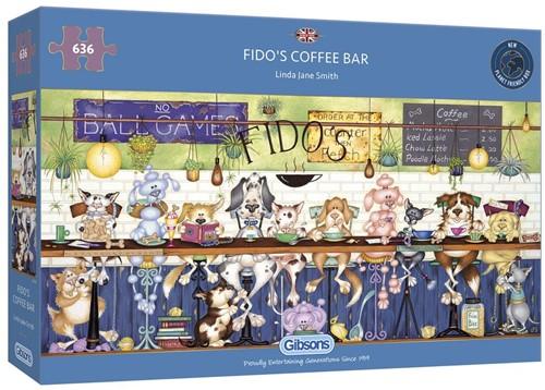 Fido's Coffee Bar Puzzel (636 stukjes)