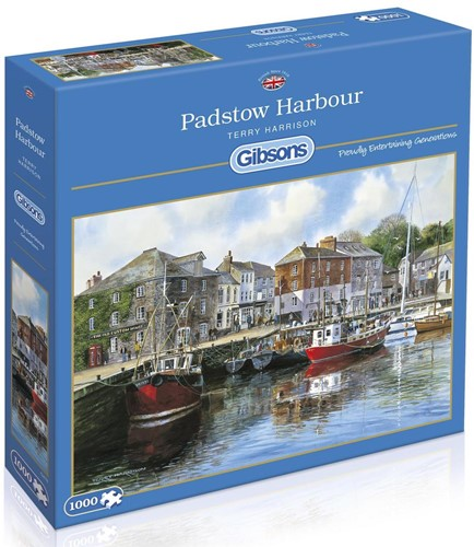 Padstow Harbour Puzzel (1000 stukjes)