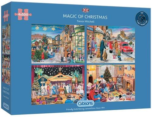 Magic of Christmas (4 x 500 stukjes)