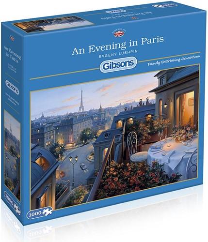 An Evening In Paris Puzzel (1000 stukjes)