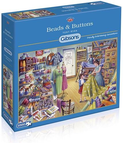 Beads & Buttons Puzzel (1000 stukjes)