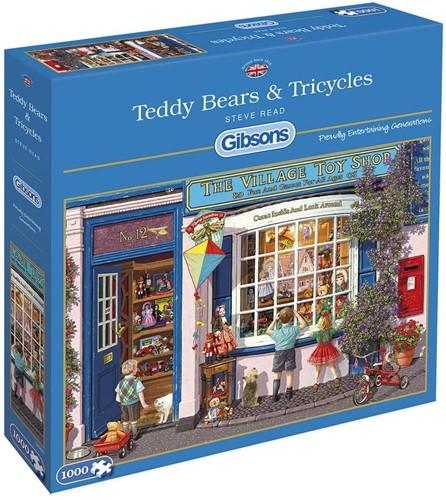 Teddy Bears & Tricycles (1000 stukjes)