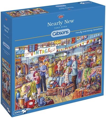 Nearly New Puzzel (1000 stukjes)
