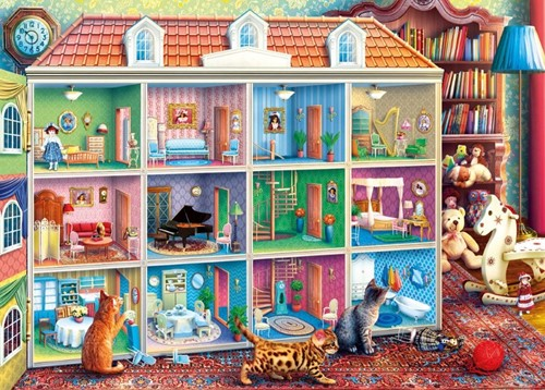 Curious Kittens Puzzel (1000 stukjes)