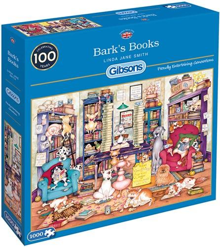 Bark's Books Puzzel (1000 stukjes)