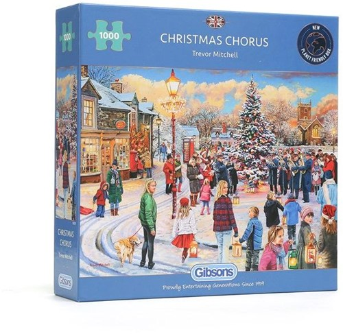 Christmas Chorus Puzzel (1000 stukjes)