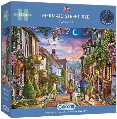 Mermaid Street, Rye Puzzel (1000 stukjes)