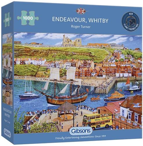 Endeavour, Whitby Puzzel (1000 stukjes)