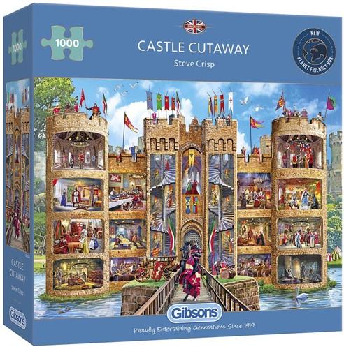 Castle Cutaway Puzzel (1000 stukjes)