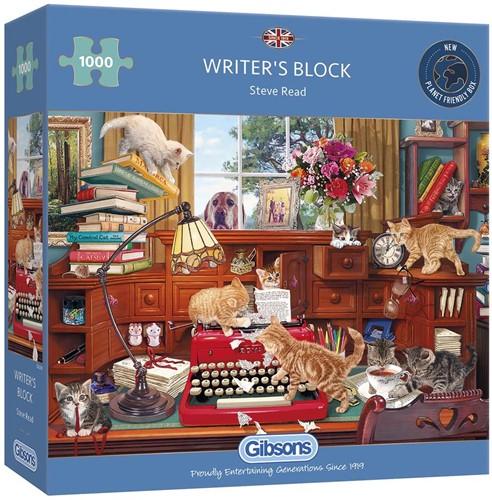 Writer's Block Puzzel (1000 stukjes)