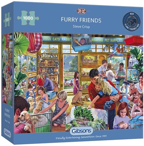 Furry Friends Puzzel (1000 stukjes)