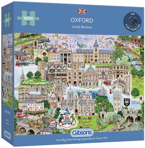 Oxford Puzzel (1000 stukjes)