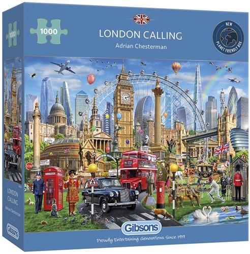 London Calling Puzzel (1000 stukjes)