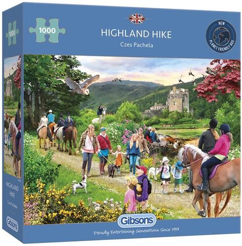 Highland Hike Puzzel (1000 stukjes)