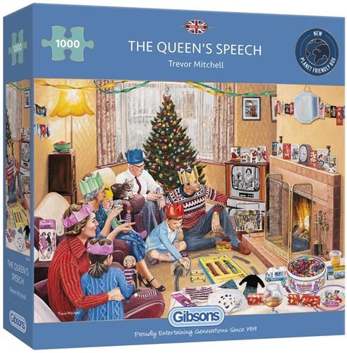 The Queen's Speech Puzzel (1000 stukjes)