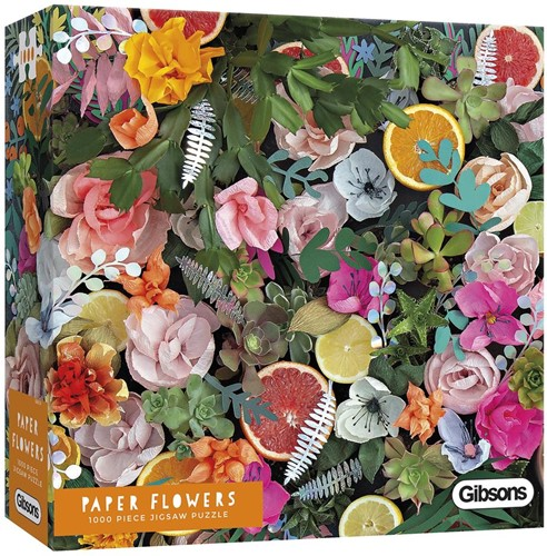Paper Flowers Puzzel (1000 stukjes)