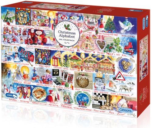 Christmas Alphabet Puzzel (1000 stukjes)