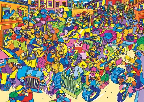Carnival Puzzel (1000 stukjes)-2