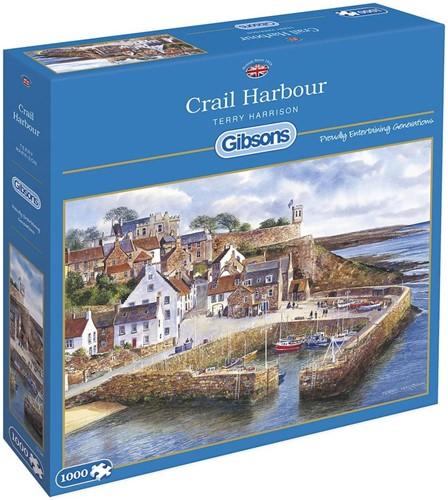 Crail Harbour Puzzel (1000 stukjes)