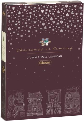 Christmas is Coming - Countdown Calendar (12 x 80 stukjes)