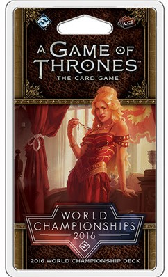 Game of Thrones 2nd Edition - World Championships 2016